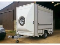 Lynton display trailer, box trailer, catering trailer
