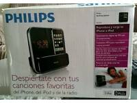 Philips ipod and iPhone player and radio.