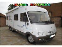 2001 Hymer B754 Fiat 2.8 JTD LHD