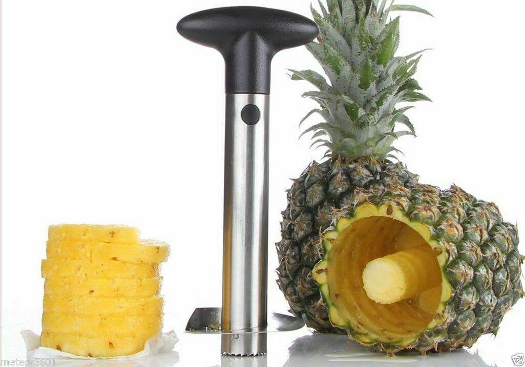 New Stainless Steel Fruit Pineapple Peeler Corer Slicer Kitchen Tool Home & Garden