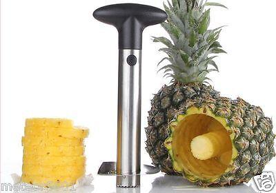 New Stainless Steel Fruit Pineapple Peeler Corer ...