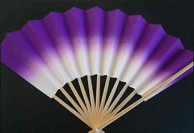 "Japanese Geisha ""Odori"" Dance Hand Held SENSU Fan/Without Weight/Made in Japan"