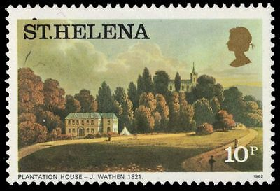 "ST. HELENA 304a (SG325B) - ""Plantation House"" by J. Wathen (pa83557)"