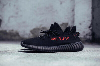 Adidas Yeezy Boost 350 V2 Black Red (UK 9 - 43)