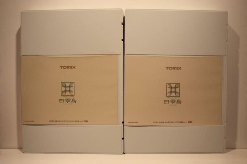 TOMIX Limited Edition JR East E001 Type TRAIN SUITE Shikishima Used F/S from JPN