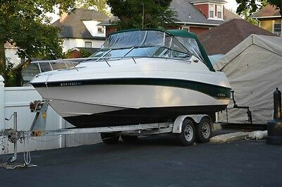 21 Ft Crownline Cuddy Cabin Boat Used Crownline 210 Ccr