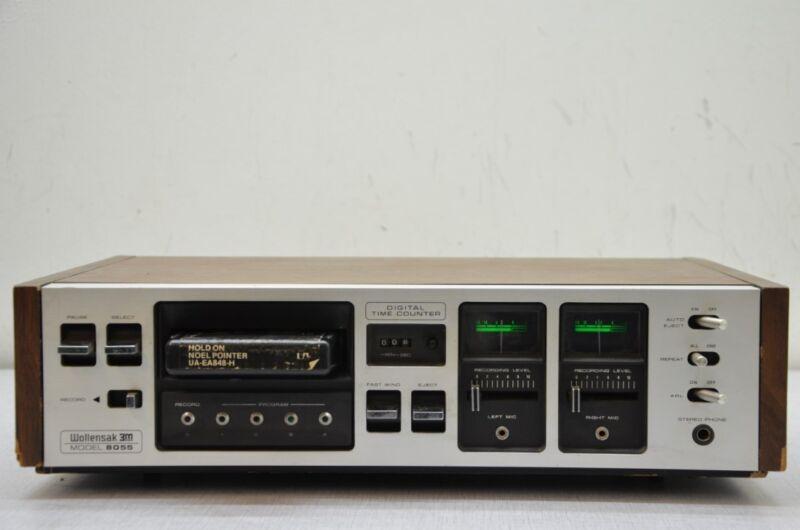 Absolut Exklusive Wollensak Model 8055 Stereo 8-Track Bandmaschine, 110 VOLTS!!