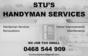 Stu's Handyman Services Perth Region Preview