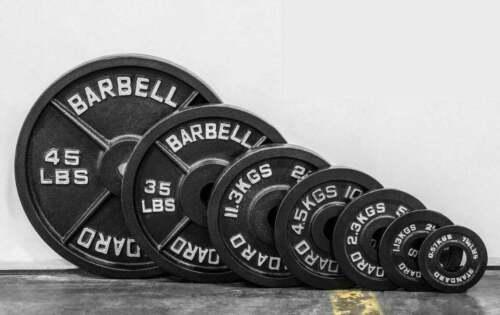 New Olympic Weight Plates (2,5lb,5lb,10lb,25lb,35lb,45lb) FREE SAME DAY SHIPPING
