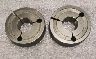 1 27 Ns 3 Thread Ring Gages 1.0 Go No Go P.d.s .9759 .9725 1-27 Ns-3 1.00