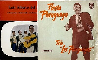 LUIS ALBERTO DEL PARANA/LOS PARAGUAYOS.Two (2) x UK EP's.LATIN AMERICA POP