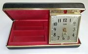 Vintage Elgin Travel Alarm Clock