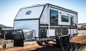 CUSTOM BUILT DESERT CARAVAN - GREAT SANDY 17.3Ft Off Road Geraldton Geraldton City Preview