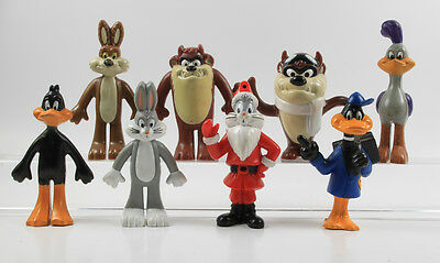 Looney Tunes Bugs Bunny === 8 x Arbys Figuren 1989