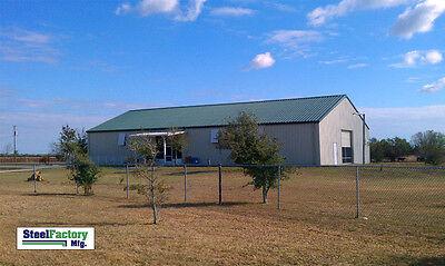 Steel Factory 40x100x16 Warehouse Storage Building Paint Shop Tractor Garage Kit