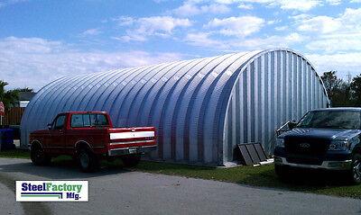 Steel Building S35x40x15 Metal Storage Fast Assembly Pole Barn Alternative Kit