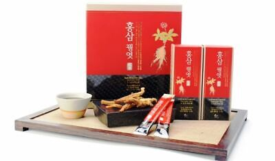 Jeju Red Ginseng Pheasant Yeot 400g Korean Hard Taffy Sweet Grain Syrup Healthy