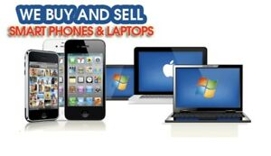 Buying phones and laptops