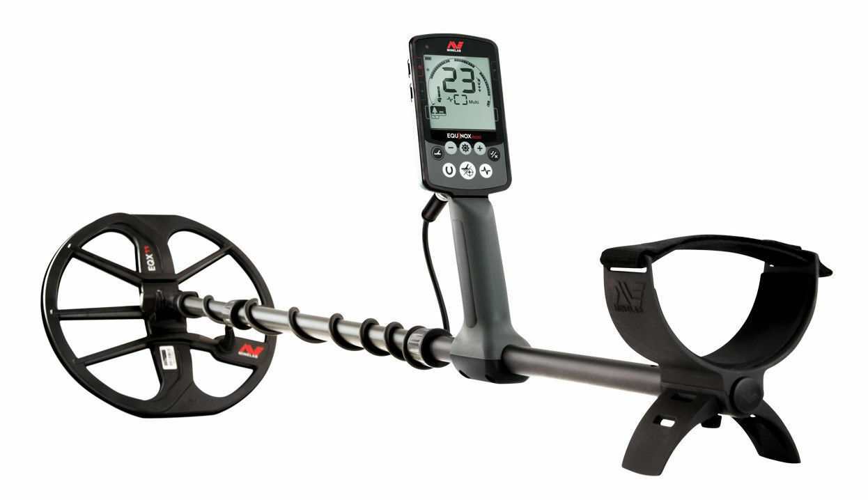 NEW Minelab Equinox 600 - Multi-Frequency, Waterproof - FREE SHIPPING in the USA