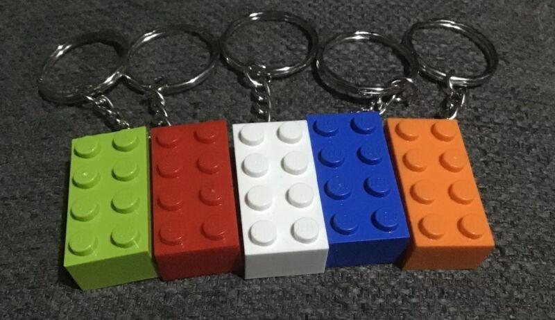 1+Lego+Brick+Keyring+Keychain+Secret+Santa+Birthday+Christmas+Cracker+Stocking