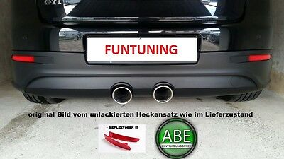 GOLF 5 R32 Heckansatz Heckschürze Heck Stoßstange Diffusor VW V GTI ABE Bumper