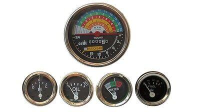Tractor Ih Farmall 460 560660 Gasdiesel Tachometer Temp Oil Amp Fuel Gauge
