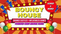 Bounce Castle, Inflatable Games and Candy Machine Rental!