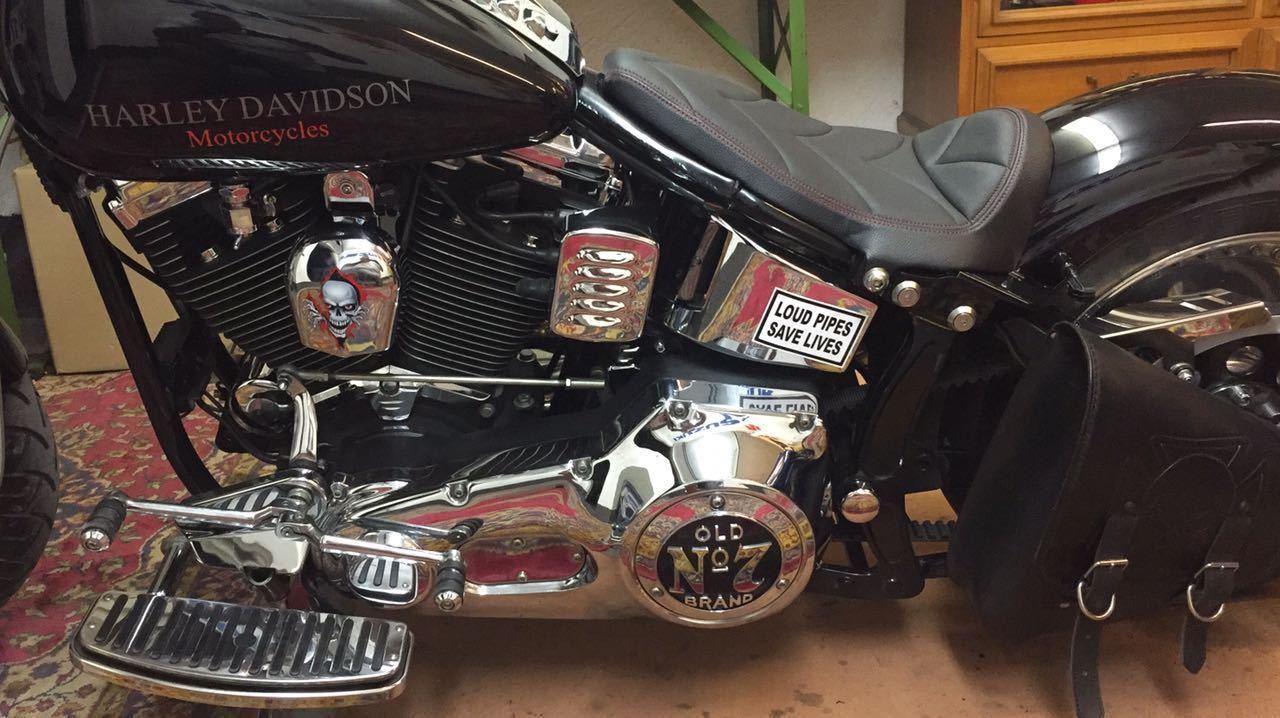 Harley Custom Bike Heritage Softail EVO