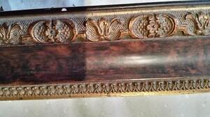CHARMING VICTORIAN PICTURE FRAME, 22 1/2