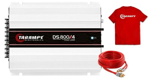Taramps DS800x4 2 Ohms Amplifier DS 800 Watts 4 Channels 3 day Delivery USA