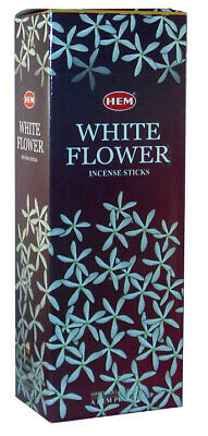 Hem Best Seller Incense Sticks White Flower 120-Stick  Free Shipping