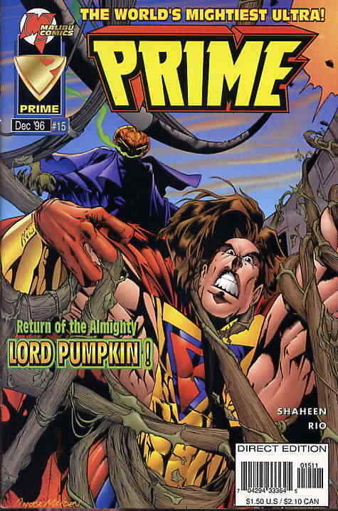 Prime (Vol. 2) #15 VF/NM; Malibu   save on shipping - details inside
