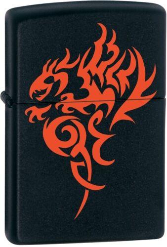 Zippo Hidden Dragon Black Matte Lighter Model 21067 NEW