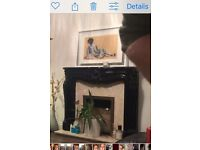 Free fireplace for collection - now gone