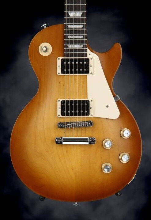 2016 gibson les paul studio 39 50s tribute traditional satin honeyburst. Black Bedroom Furniture Sets. Home Design Ideas