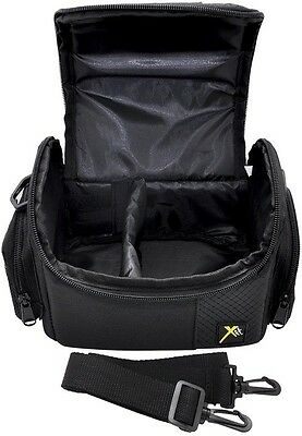 Deluxe Camera Carrying Case Bag For Sony DSC-HX400 DSC-HX300