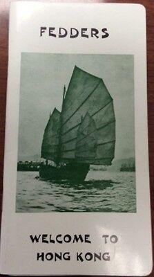 1970S Fedders Hong Kong Tour Book