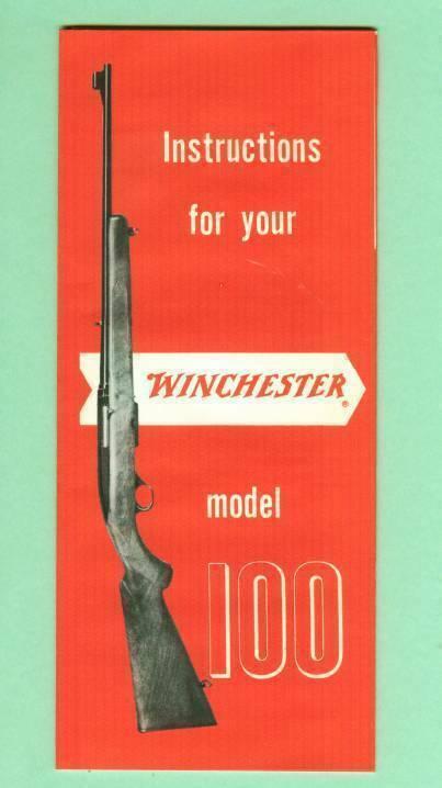 Winchester Model 100 1960