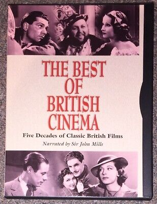 The Best of British Cinema DVD (1999) Five Decades - Sir John Mills