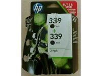 HP 339 sealed original black cartridge