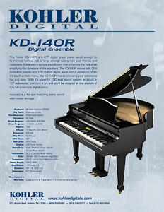 Kohler Digital Baby Grand Piano