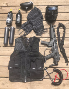 BT Delta Paintball Marker and Gear Bundle