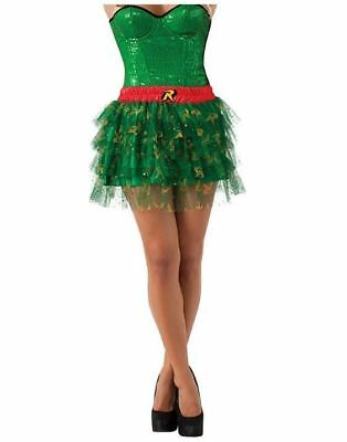 Robin DC Comics Superhero Teen Tutu Skirt Halloween Party Costume Accessory
