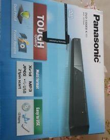 Panasonic DVD player new