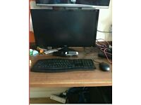 Gaming pc setup workstation