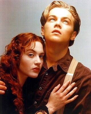 TITANIC Movie Photo Print  #3 : LEONARDO DICAPRIO, KATE WINSLET