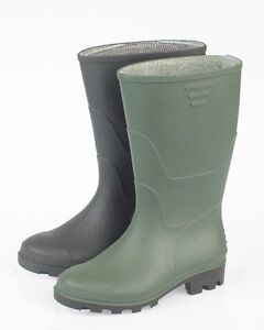 JobLot-Wholesale-Mens-Wellington-Boots-Size-Ranges-Adult-6-12-Green-or-Black