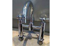 Porto Bath Mixer Chrome Tap