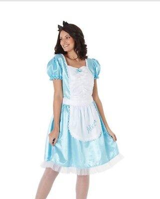Alice In Wonderland Dress Up (BNWT Disney Alice in Wonderland Adult Dress up costume Large 16-18)