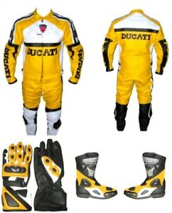 Custom made leather motorcycle bike suit suits